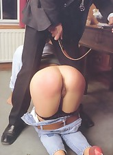 Vintage spanking